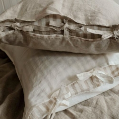 Yarn Dyed Linen Bedding Set